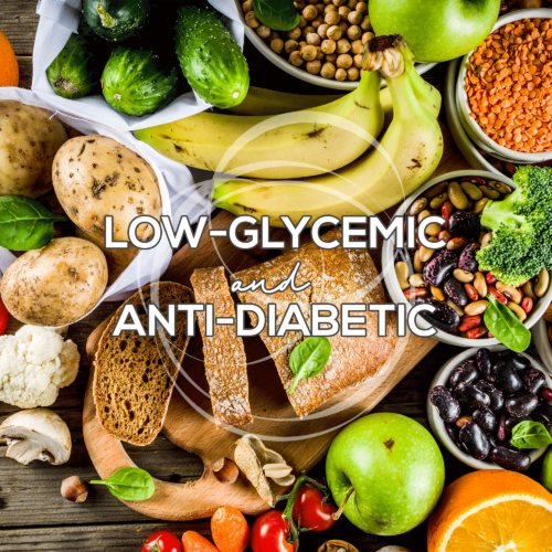LOW-GLYCEMIC-and--ANTI-DIABETIC-